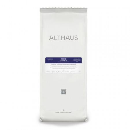 Althaus Loose Tea Spice Punch: ceai negru aromat, ceai vrac, punga 250g