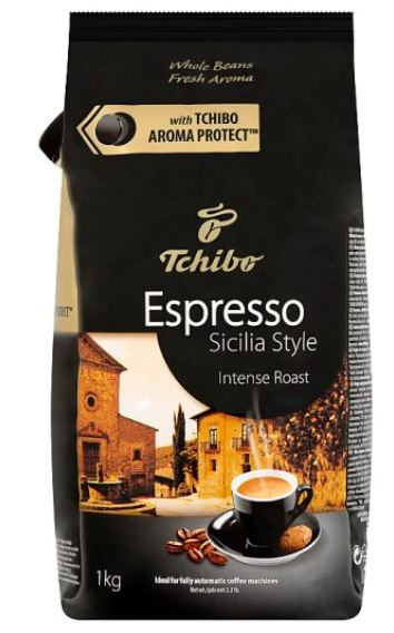 Cafea Boabe Tchibo Espresso Sicilia Style, punga 250g, 500g, 1 kg