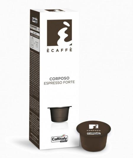 Caffitaly Capsule Cafea E'CAFFE CORPOSO