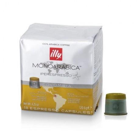 Capsule cafea Illy Iperespresso Cube Colombia, 18 capsule, 126 grame
