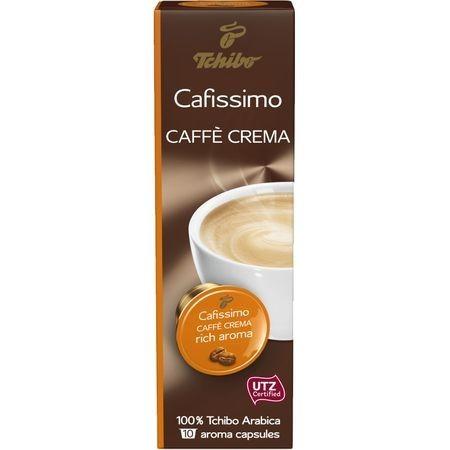 Capsule cafea Tchibo Cafissimo Caffe Crema Rich Aroma, 10 capsule, 80 g