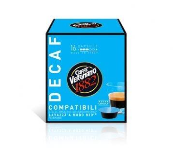 Capsule cafea Vergnano AMM Decaffeinato, 16 capsule, 120 grame