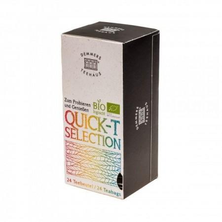 Ceai Demmers Quick-T Organic Selection, 25 plicuri, 43 grame