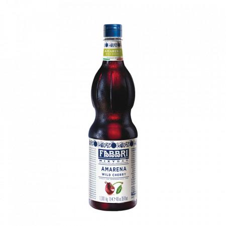 Fabbri MIXYBAR AMARENA - Cocktailuri, Granite, Smoothie-uri, Milkshake, Sorbete, Sticla din plastic, 1 litru