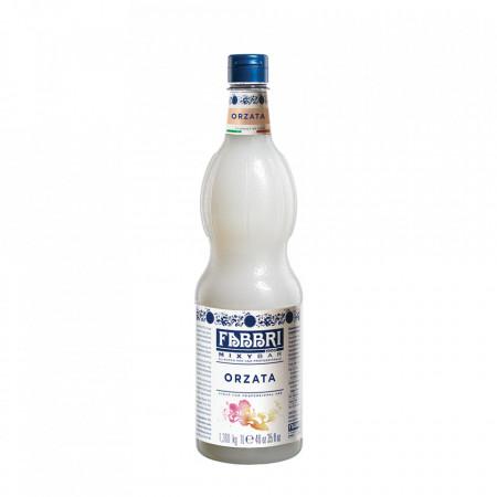 Fabbri MIXYBAR ORGEAT(migdale, apa de portocale, zahar) - Cocktailuri, Granite, Smoothie-uri, Milkshake, Sorbete, Sticla din plastic, 1 litru