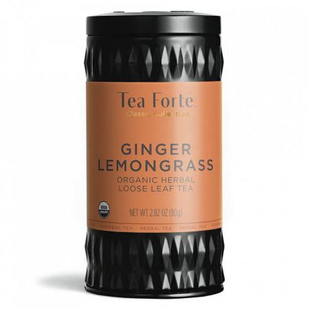 Ginger Lemongrass - Ceai de plante cu ghimbir, lemongrass, radacina de lemn dulce, menta si coaja de lamaie