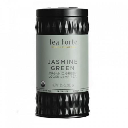 Jasmine Green - Ceai verde organic cu flori de iasomie