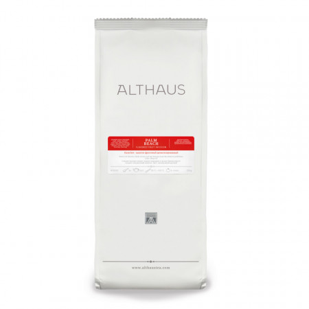 Althaus Loose Tea Palm Beach: infuzie de fructe, ceai vrac, punga 250g