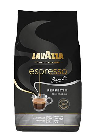Cafea boabe Lavazza Espresso Barista Perfetto, 1kg, 100% Arabica, Pentru filtru si Presa Pranceza, pentru Acasa sau la Birou