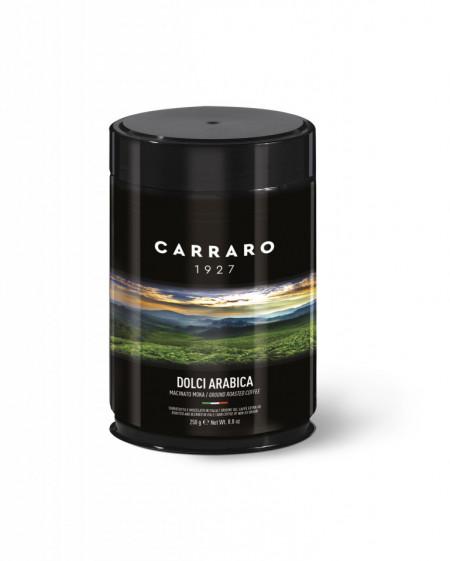 Carraro Cafea Macinata Dolci Arabica, Cutie 250 gr