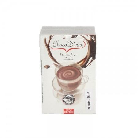 Ciocolata calda ChocoDivino Menta, 12 plicuri, 360 grame