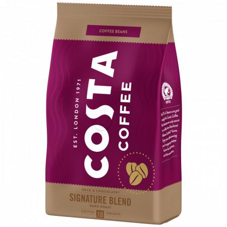 Costa Signature Blend Dark Roast, Cafea Boabe, 500g, Gust intens cu note de ciocolata, prajire intensa