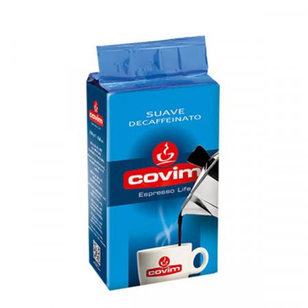 Covim Suave Cafea Macinata Decaf, Fara Cofeina, pachet 250gr