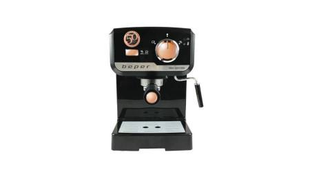 Espressor Electric Beper, 1-2 cesti, 1140W, 15 bar, Rezervor 1.5Litri