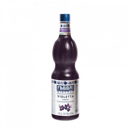 Fabbri MIXYBAR VIOLETE - Cocktailuri, Granite, Smoothie-uri, Milkshake, Sorbete, Sticla din plastic, 1 litru