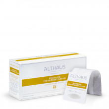 Althaus Grand Pack Rooibush Strawberry Cream: Rooibos Aromat, T-Bag, 20 plicuri in cutie, 4g in plic