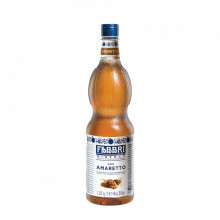 Fabbri MIXYBAR AMARETTO - Cocktailuri, Granite, Smoothie-uri, Milkshake, Sorbete, Sticla din plastic, 1 litru