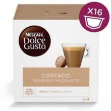 NESCAFÉ DOLCE GUSTO Cortado Espresso Macchiato, 16 Capsule, 100.8gr