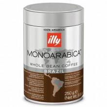 Cafea Boabe Illy Brazil, 250 grame, origine Brazilia