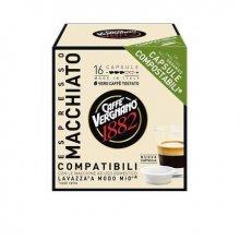Capsule cafea Vergnano AMM Macchiato, 16 capsule, 120 grame