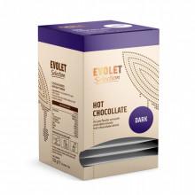 Ciocolata White Evolet Selection, neagra, 16 plicuri x 32g fiecare plic
