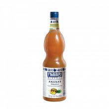 Fabbri MIXYBAR ANANAS- Cocktailuri, Granite, Smoothie-uri, Milkshake, Sorbete, Sticla din plastic, 1 litru