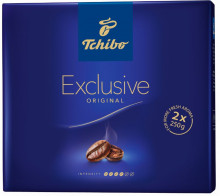 PACHET PROMOTIONAL! Cafea Macinata Tchibo Exclusive, Duo Pack 2X250g