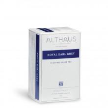Althaus Deli Pack Royal Earl Grey: Ceai Negru cu Aroma de Bergamota, 20 plicuri în cutie, 1,75g ceai în plic din hartie