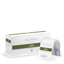 Althaus Grand Pack Milk Oolong : Ceai Verde Semi-Fermentat, T-Bag, 20 plicuri in cutie, 4g in plic