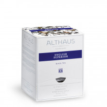 Althaus Pyra Pack English Superior: Ceai Negru, 15 plicuri in cutie,2,75g ceai in plic din matase