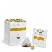 Althaus Pyra Pack Fancy Chamomile: Ceai de Musetel, 15 plicuri in cutie,2,75g ceai in plic din matase