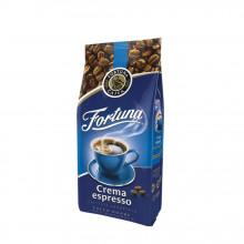 Cafea Boabe Fortuna Crema Espresso, 1 kg, cafea amestec, gust intens, aroma de ciocolata amaruie