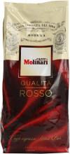 Cafea Boabe Molinari Qualita Rosso, Punga 1kg, Amestec, Robusta 50%, Arabica 50%, Crema Bogata si Densa, Cafea, Ciocolata, Tutun