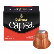 Capsule cafea Dallmayr Capsa Espresso Ethiopia, 10 capsule, 56 grame, compatibile Nespresso