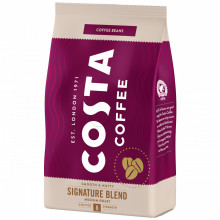 Costa Signature Blend Medium Roast, Cafea Boabe, 500g, Gust Delicat cu Note de alune, Prajire Medie