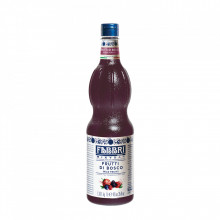 Fabbri MIXYBAR FRUCTE DE PADURE - Cocktailuri, Granite, Smoothie-uri, Milkshake, Sorbete, Sticla din plastic, 1 litru