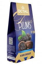 Prune uscate în ciocolată neagră Octal Original Taste 100g
