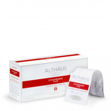 Althaus Grand Pack Strawberry Flip: Infuzie Fructe, T-Bag, 20 plicuri in cutie, 4g in plic