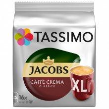 Capsule cafea Tassimo Caffe Crema XL, 16 capsule, 132.6 grame