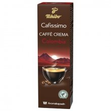 Capsule cafea Tchibo Cafissimo Caffe Crema Colombia Andino, 10 capsule, 80 g