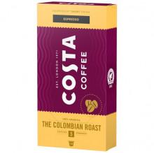 Capsule COSTA COFFEE Espresso Colombian Single Origine, 5.7gr/capsula, 10 capsule in cutie, Gust Bugat, Note de Miere, Compatibil cu aparatele Nespresso