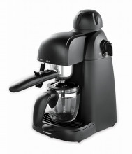 Espressor Heinner HEM-150BK, espresso si capuccino, 3.5 bar, 4 cesti, 800W, Negru