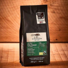 ALTO PALOMAR Cafea Boabe, Fair Trade & Organic, 100% Arabica, origine Perù, pungă 250g