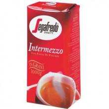 Cafea Boabe Segafredo Intermezzo, 1 kg, cafea amestec, gust intens, note de migdale