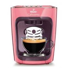 Espressor Tchibo Cafissimo Mini, 2 culori Albastru, Corai, capsule, 4 bauturi, ceai, espresso, filtru, cafea crema,15 bar, 1500 W