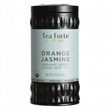 Orange Jasmine - Ceai verde organic cu iasomie, flori si coaja de portocala
