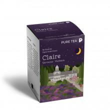 Pure Tea Bio Pyra Claire Verbena - infuzie deplante cu note de citrice, in plic transparent, 3 gr/plic, 15 plicuri in cutie