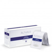 Althaus Grand Pack Royal Earl Grey: Ceai Negru cu Aroma de Bergamota, T-Bag, 20 plicuri in cutie, 4g in plic