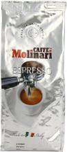 Cafea Boabe Molinari Espresso, Punga 1kg, Cafea Amestec, Arabica 50%, Robusta 50%, Ciocolata si Cacao