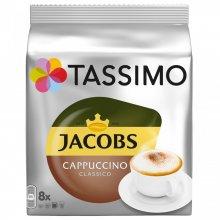 Capsule cafea Tassimo Cappucino, 8 capsule, 260 grame